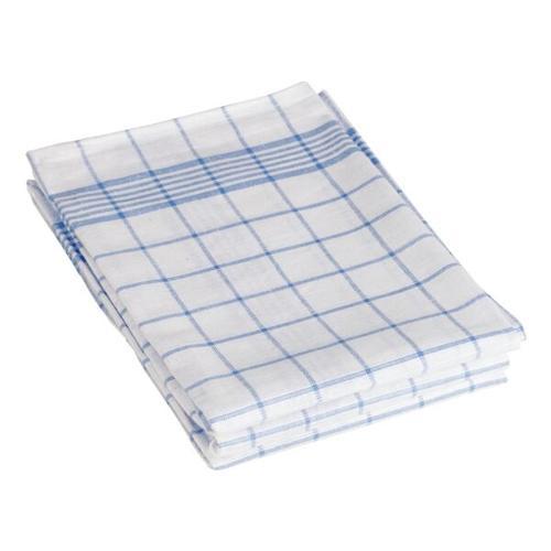Geschirrtücher »blau/weiß kariert« im 3er-Pack blau, OTTO Office, 50 cm
