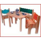 Kindersitzgruppe 4-teilig Holz D...