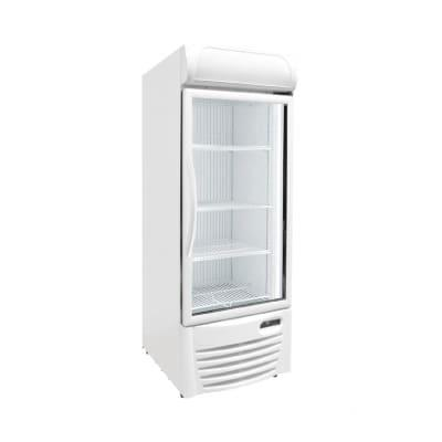 """Excellence Industries GDF-13 26 1/2"""" One Section Display Freezer w/ Swing Door - Bottom Mount Compressor, White, 115v"""