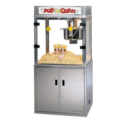 Gold Medal 2911EB Medallion Popcorn Machine w/ 52 oz Kettle & 3 Way Filter System, 120/208v