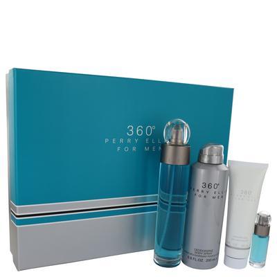 Perry Ellis 360 For Men By Perry Ellis Gift Set - 3.4 Oz Eau De Toilette Spray + 6.8 Oz Body Spray +