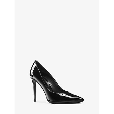 Michael Kors Muse Patent Leather Pump Black 37