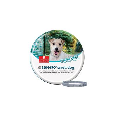 Seresto Collar For Small Dogs (Upto 18 Lbs) 15 Inch (38 Cm) 1 Piece