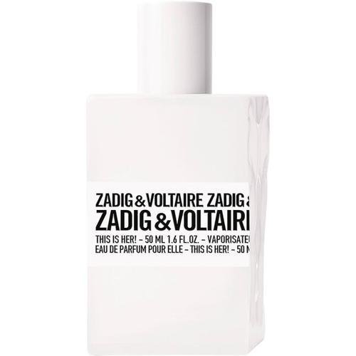 Zadig & Voltaire This is Her! Eau de Parfum (EdP) 50 ml Parfüm
