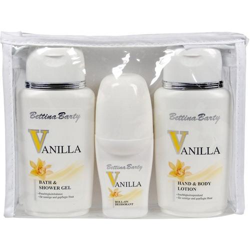 Bettina Barty Vanilla (Bath & Duschgel 150 ml, Deo 50 ml) Körperpflegeset