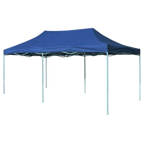 vidaXL Faltzelt Pop-Up 3 x 6 m Blau