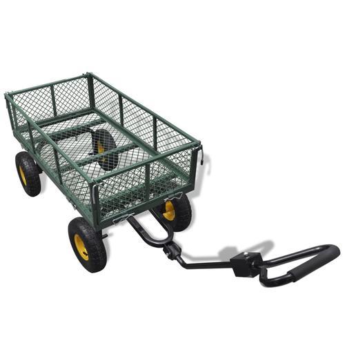 vidaXL Garten Bollerwagen 350 kg Last
