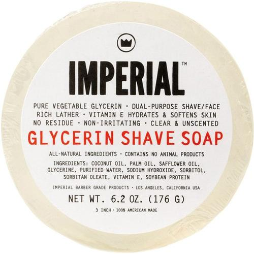 Imperial Glycerin Shave/Face Soap 176 g Puck Rasierseife
