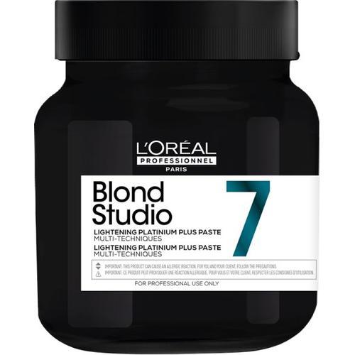 L'Oréal Professionnel Blond Studio Platinium Plus Lightening Paste 500 g Blondierung