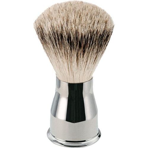 Erbe Shaving Shop Rasierpinsel Silberspitz, glänzend