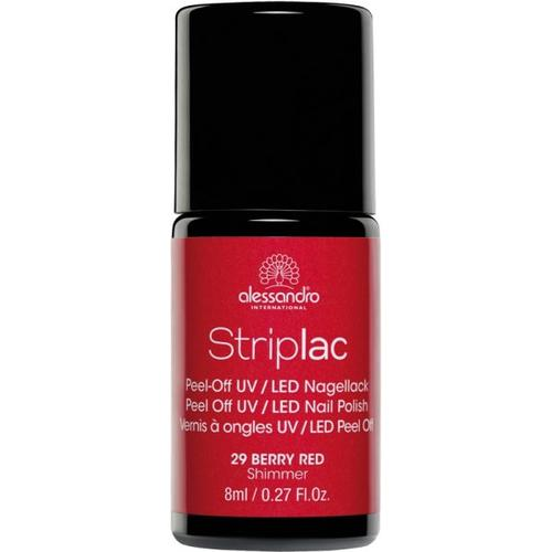 Alessandro Striplac 129 Berry Red 8 ml Nagellack