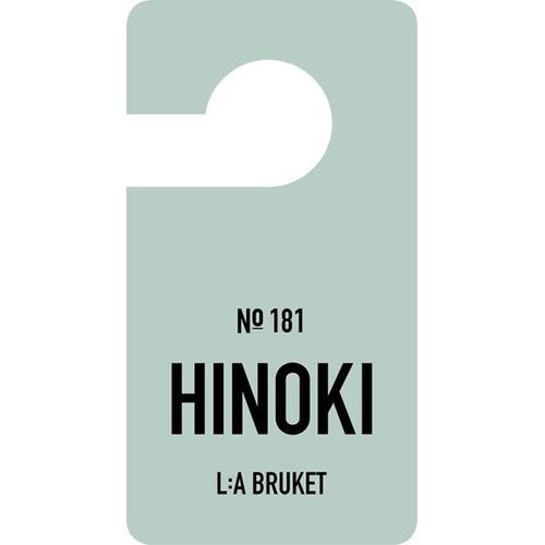 L:A Bruket Fragrance Tag Duftanhänger Hinoki Raumduft