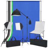 vidaXL Fotostudio-Set mit Aufnah...