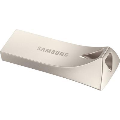 Samsung 64GB BAR Plus USB Flash Drive Silver
