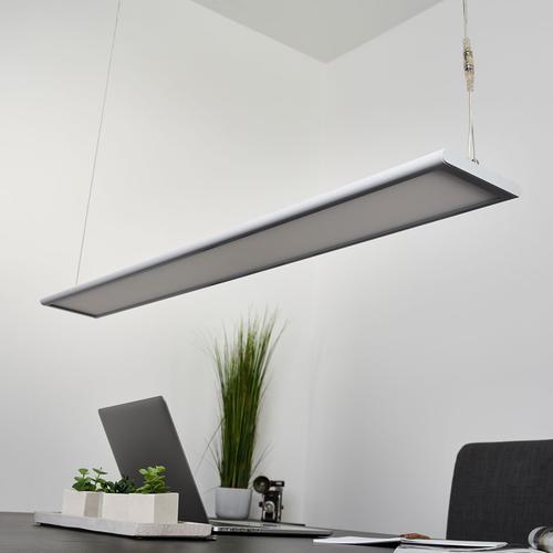Dimmbare LED-Büro-Hängeleuchte Samu, 40,5 W