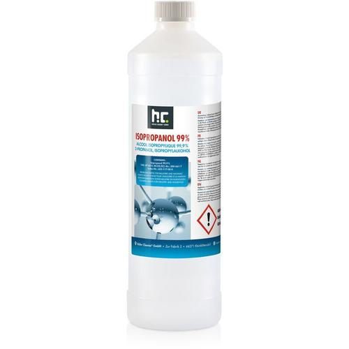 6 x 1 Liter Isopropanol 99,9% in 1 L Flaschen