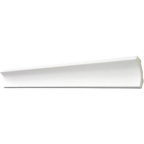 Decosa ® - Decosa Zierprofil B7, weiss, 50 x 50 mm Laenge 2 m - 50 Stueck