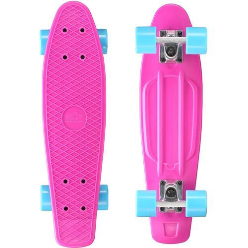 Star-Skateboard Skateboard, Kicktail lila Skateboards Skateausrüstung Sportausrüstung Accessoires Skateboard