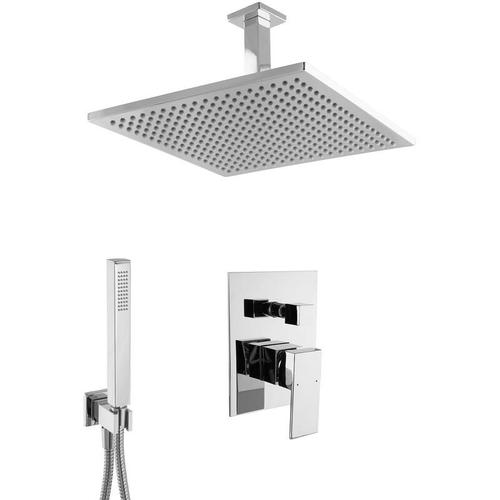 Paulgurkes - Regendusche Komplett Set Unterputz Deckenmontage