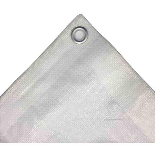 weiss 180 g/m² 3 x 5 (15m²) Abdeckplane