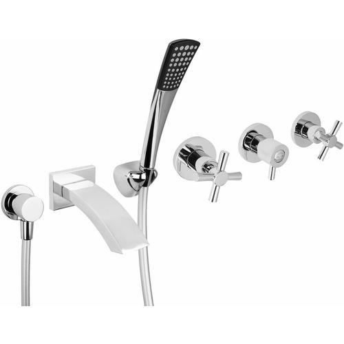 UP-Armaturen Set für Badewannen mit Brausegarnitur
