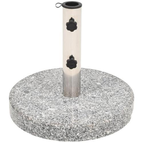 Sonnenschirmständer Granit Rund 22 kg