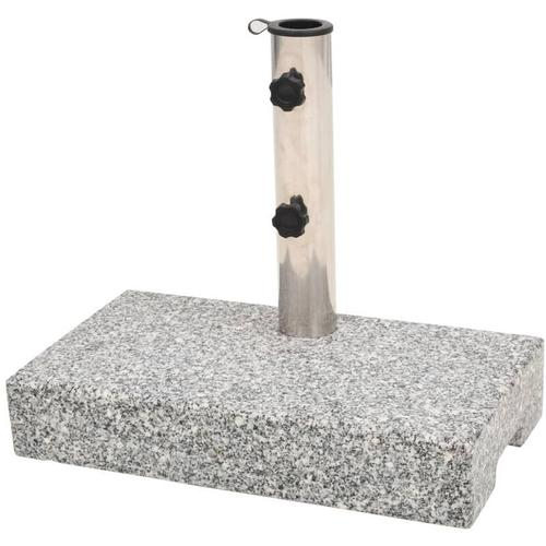 Sonnenschirmständer Granit Rechteckig 25 kg