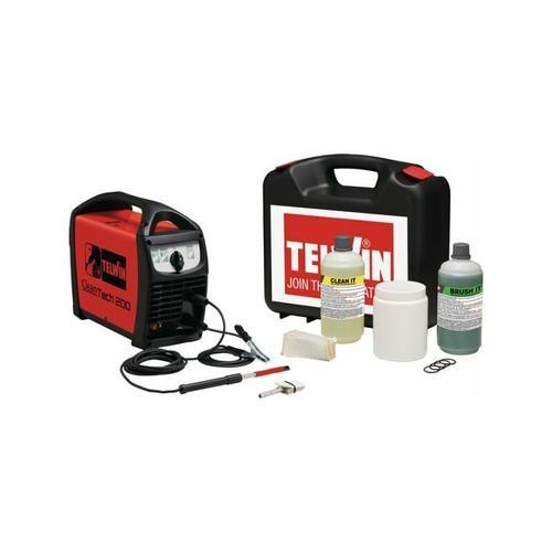 CleanTech 200 Edelstahl Schweißnaht Reinigungsgerät für WIG MIG Edelstahl Schweißnähte - Telwin