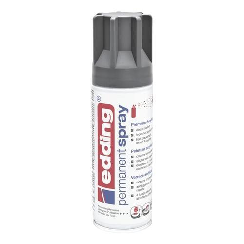Permanent Spray Premium Acryl-Farblack »5200« grau, Edding
