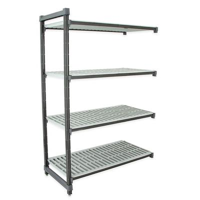 Cambro EA185472V4580 Polymer Louvered Add-On Shelving Unit – 54″L x 18″W x 72″H