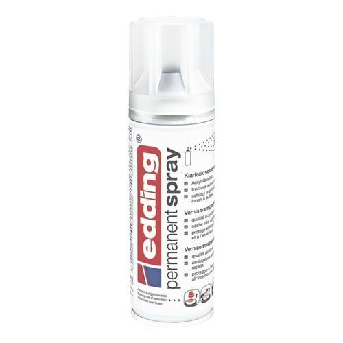 Permanent Spray Klarlack »seidenmatt«, Edding