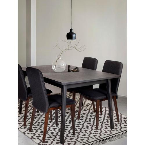 Woodman Esstisch, Breite 140 cm schwarz Esstisch Tische