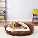 Snoozer Pet Products Orthopedic Microsuede Cozy Cave Dog & Cat Bed, Laurel Cayenne, X-Large