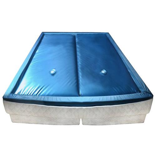 vidaXL Wasserbettmatratzen-Set mit Einlage + Trennwand 180 x 200 cm F3