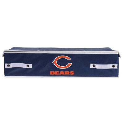 """Franklin Sports Chicago Bears Large Under Bed Bin"""