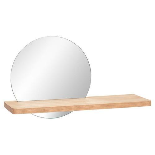 Hübsch Regal mit Spiegel rund
