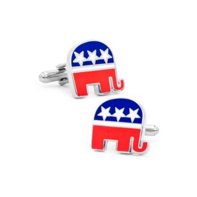 Cufflinks Inc Multi Republican Elephant Cufflinks