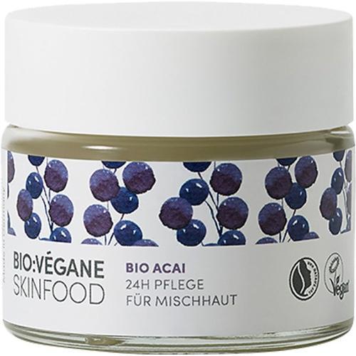 Bio:Végane Skinfood Bio Acai 24h Pflege für Mischhaut 50 ml Gesichtscreme