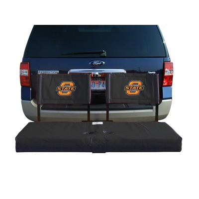 Oklahoma State Cowboys Tailgate Hitch Seat/Cargo Carrier