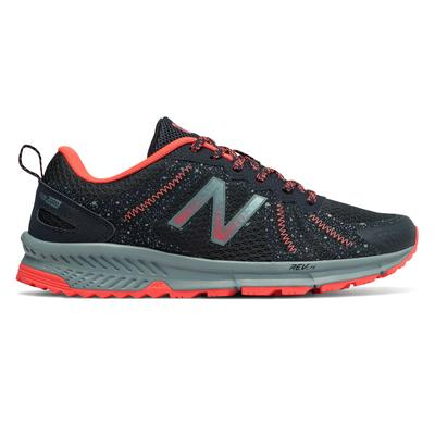 New Balance Women's 590v4 Trail Shoes Navy with Orange - WT590LP4 - 8 - D