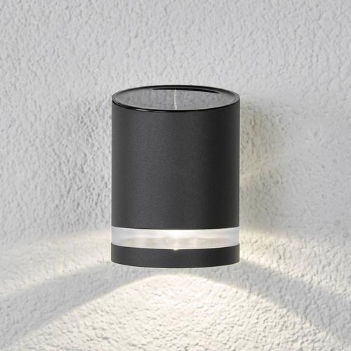 Solar-Außenwandleuchte Melinda mit LED