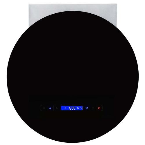 vidaXL Wand-Dunstabzugshaube LCD-Display Touch-Sensor 756 m³/h LED