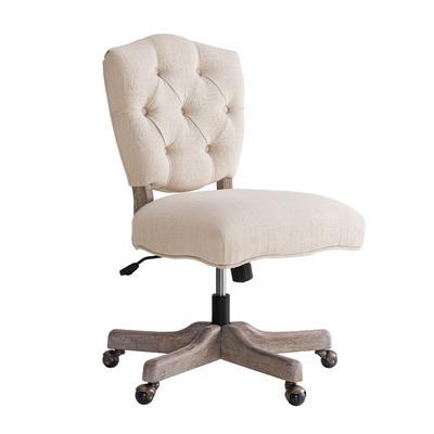 Kelsey White Office Chair - Linon OC055WHT01U