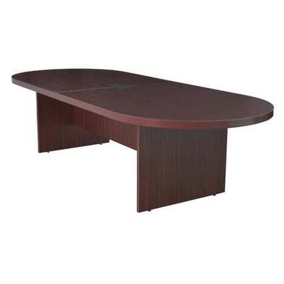 """""""Legacy 120"""""""" Racetrack Conference Table w/ Power Data Grommet in Mahogany - Regency LCTRT12047MH"""""""