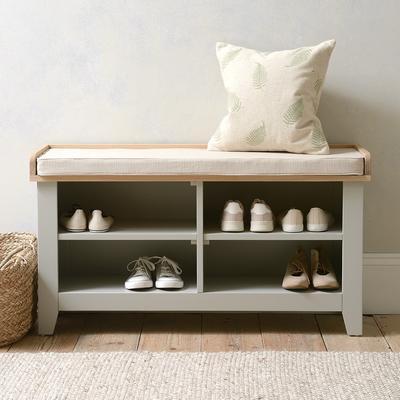 Chester Dove Grey Open Shoe Stor...