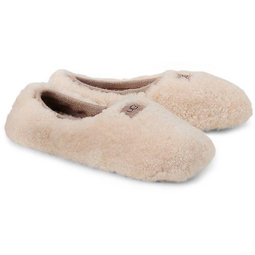 UGG, Hausschuh Ballerina in beige, Hausschuhe für Damen Gr. 39