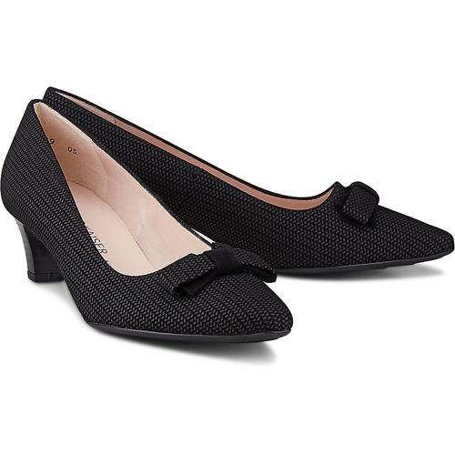 Peter Kaiser, Pumps Saris Plus in schwarz, Pumps für Damen Gr. 38 2/3