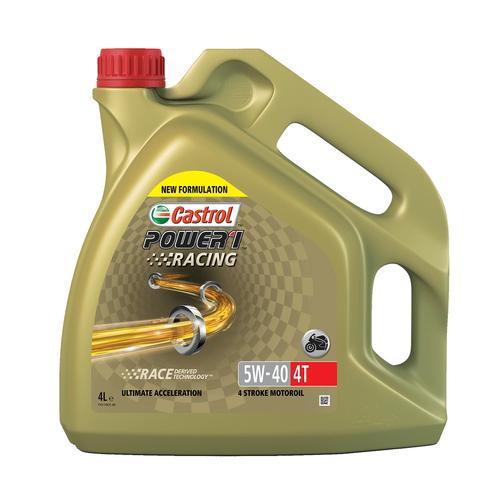 4-?Takt Motoröl '5W-40 POWER 1 Racing 4T (4 L)' | Castrol, Inhalt: 4 Liter, Viskositätsklasse SAE: 5W-40