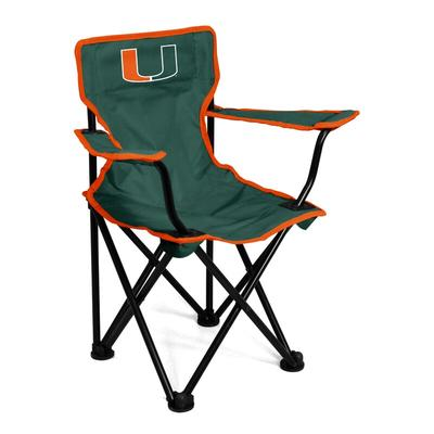 """""""Miami Hurricanes Toddler Tailgate Chair"""""""