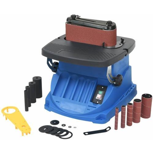 Oszillierende Spindel- und Bandschleifmaschine 450 W Blau
